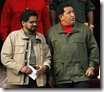 chavez and farc commander
