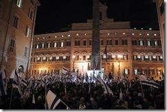 roma manifwestacion apoyo a Israel
