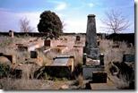 Un cementerio judío en Colonia Mauricio, a 300 km de Buenos Aires