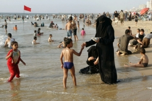 Burqa beach