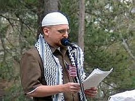 Jibril Hough speaks at Jumah in Charlotte