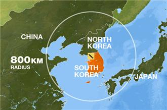 la proxima guerra rango de alcance misiles corea del sur del norte china japon
