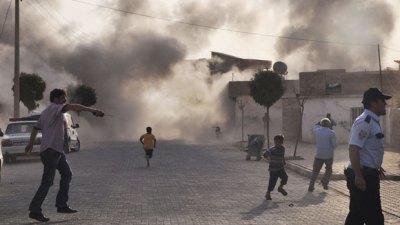 la proxima guerra turquia siria bombardeo frontera mortero