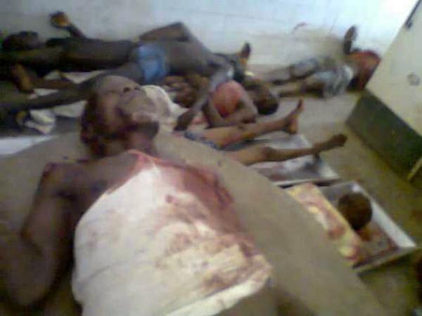 Queman Cristianos en Nigeria 2012 me Parece Increíble Que en