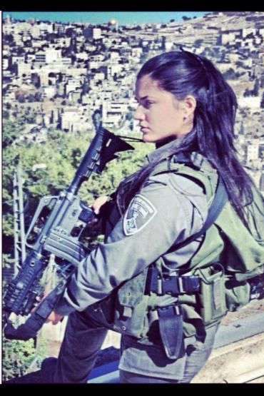 Guardiana de Sion! Las chicas israelíes son mas que una cara bonita