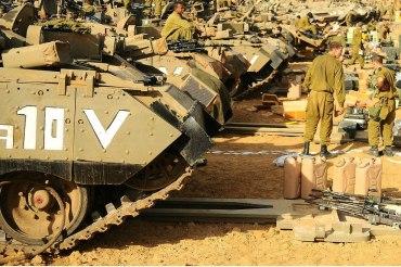 FOTO: Tzahal, lista para la batalla!