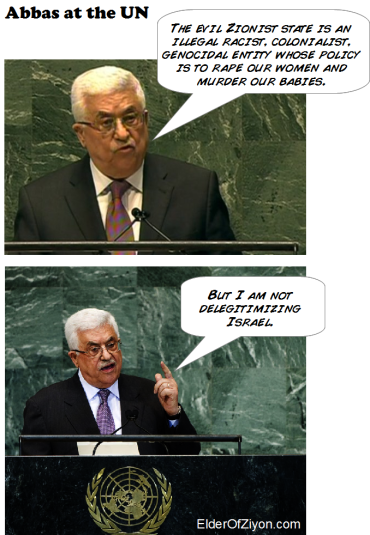 abbas un speech