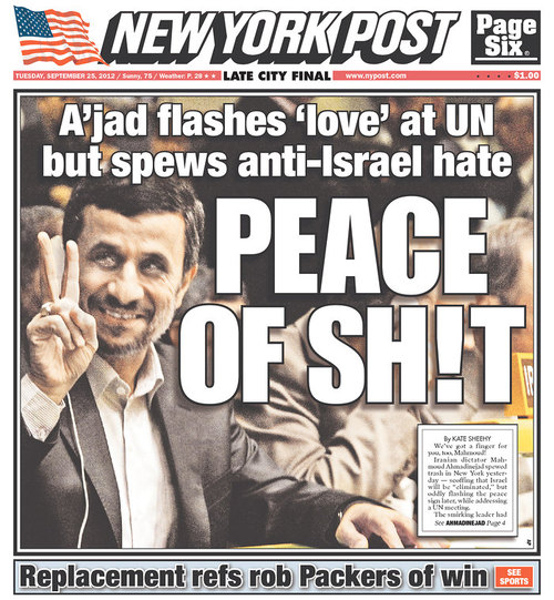 NYPost-Ahmadinijad