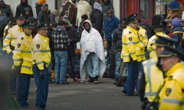 Evacuation of asylum seekers in Amsterdam
