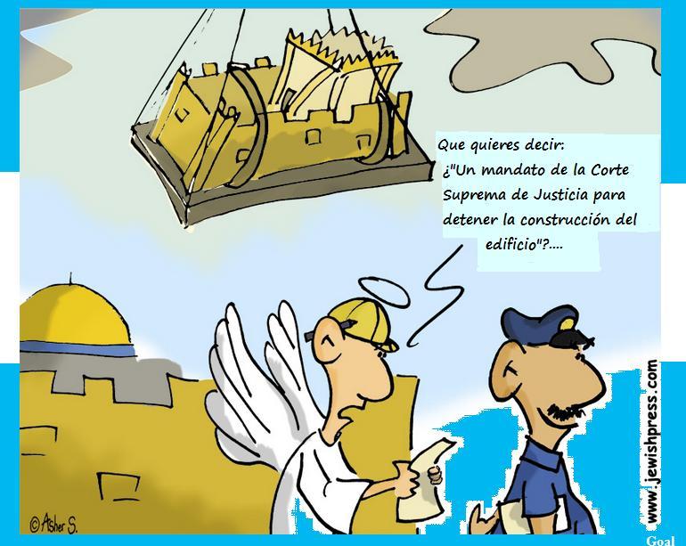 3 Templo problemas construcción viñeta
