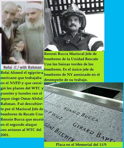Bombero Ronnei Bucca y el traidor Refai Ahmed