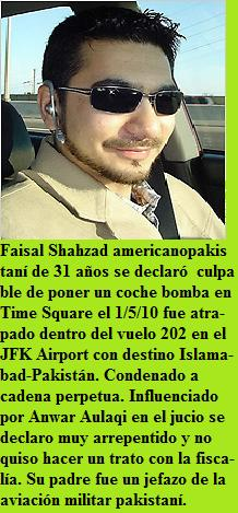 Faisal Shahzad coche bomba Time Square 1-05-2010