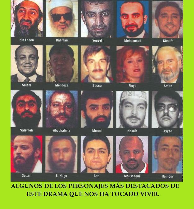 LOS PERSONAJES-MURAL