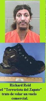 Richard Reid el Terrorista del Zapato.Solo