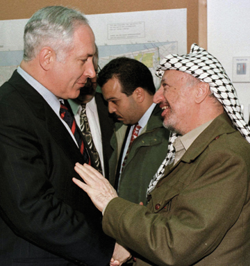 ARAFAT AND NETANYAHU