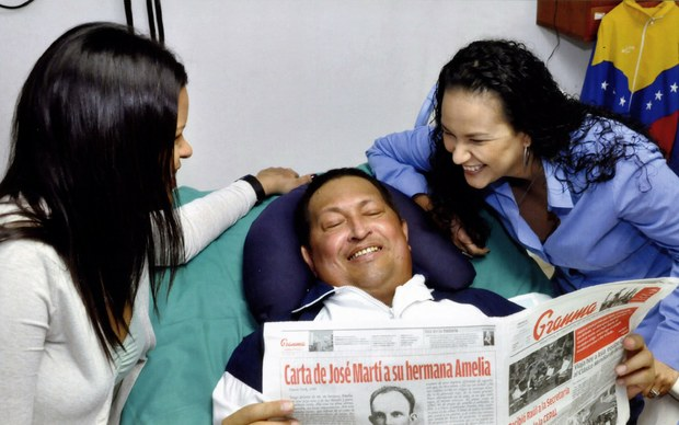 Gobierno venezolano publica hoy, después meses de ausencia, fotos de Chavez