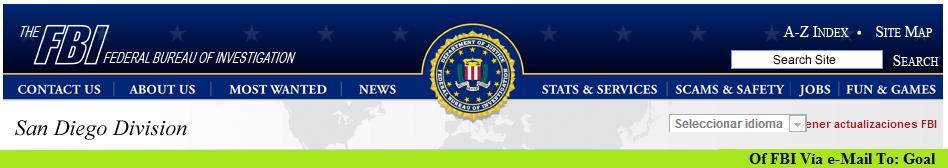 FBI To Goal