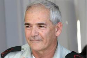 Mayor General de las IDF Avi Mizrahi.