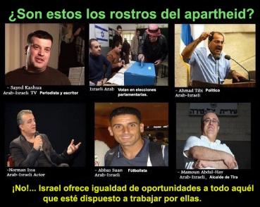 Apartheid en israel claro que no