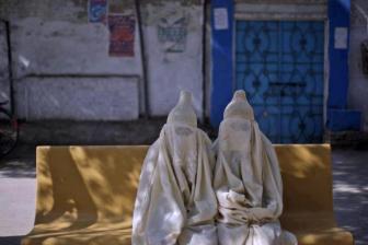 Cucurruchos de nata islámicos vivientes... o no..!!