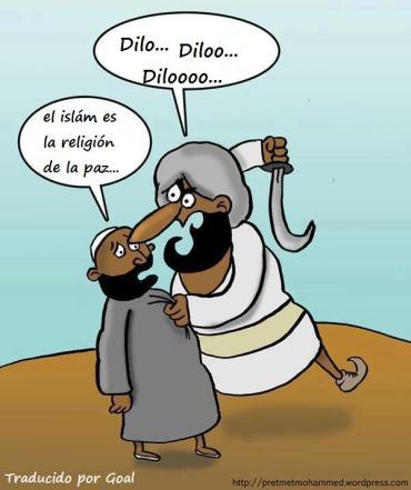 Dilo con una gumia en la malo muslims