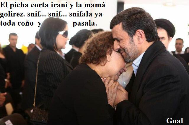 El iranio y la mama gorilez
