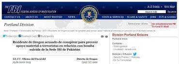 FBI.División de Oregon