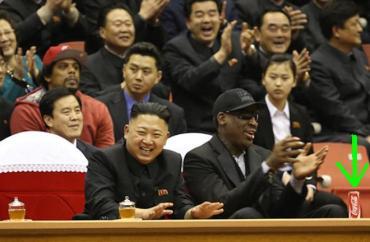 La primera coca cola en la historia de Corea del Norte