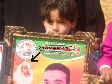 Un niño de 4 años que idolatra a un terrorista. Curioso