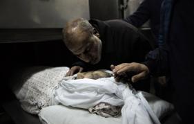 Cadáver del Terrorista de Hamas Abu Maysara Hamdiyed