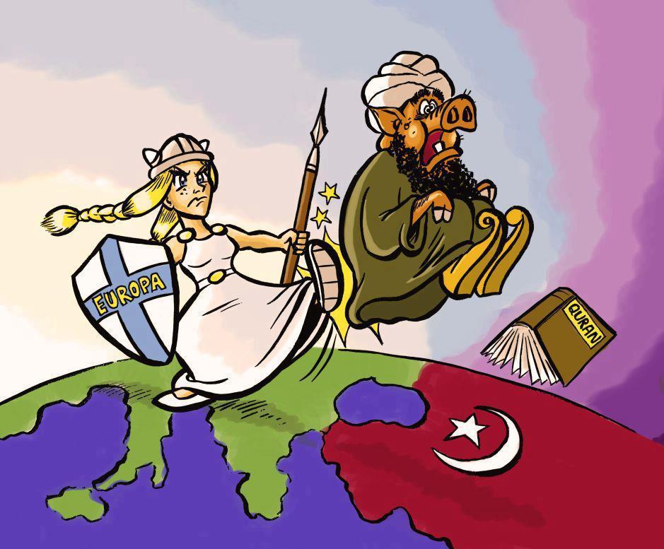 Europa da la patada a Porkislam