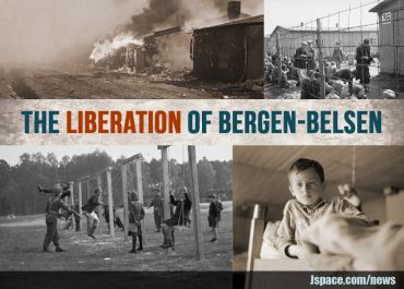 Liberación de Berfen-Belsen 15 de Abril de 1945