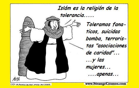 Viñeta islam tolerante