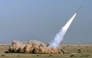 "cohete tierra-tierra ""Fataj 110"""
