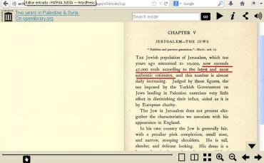 migracion arabe a jerusalem