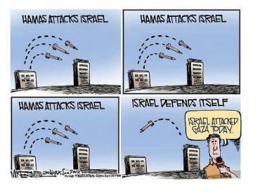 Hamas ataca Israel - Israel se defiende..