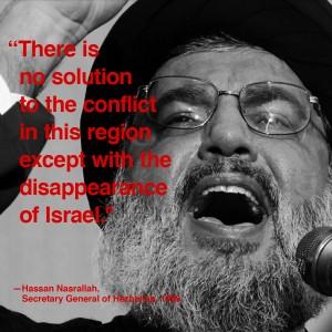 Nasrallah no hay mas solución que la desaparición de Israel28