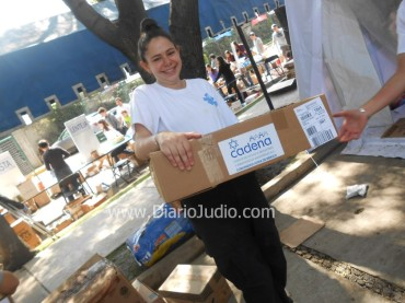 Mano A mano la comunidad Judia apoya a Los damnificados de Guerrero y Veracruz, Cadena Organiza