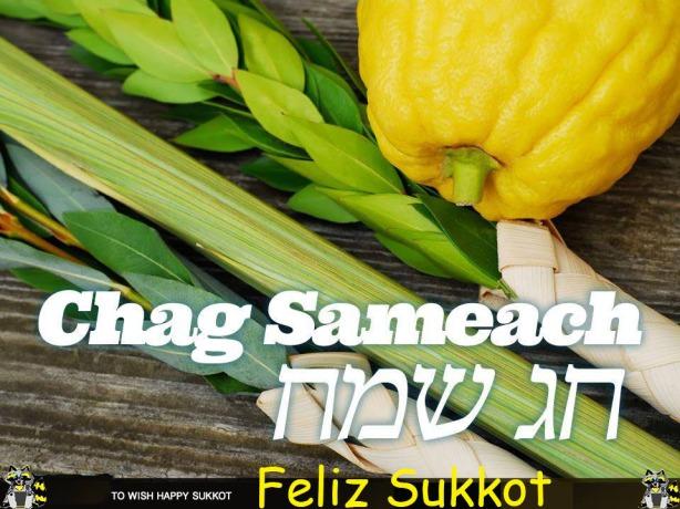 Chag Sameach Sukkot