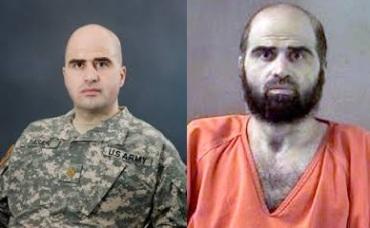 Mayor musulman USA Hasan Nidal. Asesino de sus compañeros.