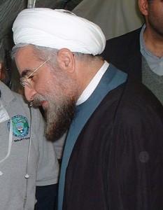 Hassan Rouhani actual Presidente de Irán.