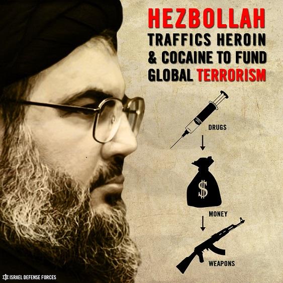Infographic-Hezbollah y el trafico de drogas