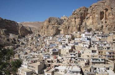 Maaluda municipio sirio arameo parlante cristiano tomado por un grupo jihadista vinculado a al-Qaeda