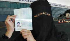 Sabanuda negra con pasaporte