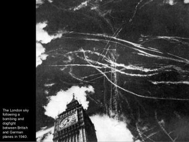 La batalla aérea de Inglatera 1940.