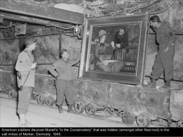 Los nazis escondían sus rapiñas en minas de sal y otras.