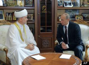 Vladimir Putin, Ravil Gainutdin