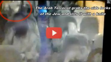 Terroristas araba intento apuñalar en autobus.