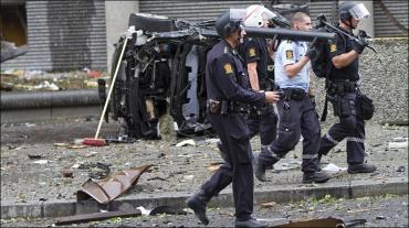 Noruega entra en caos por ola de violencia Islamica.