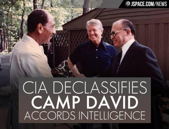 La CIA desclasifica memos de inteligencia de acuerdos de Camp David